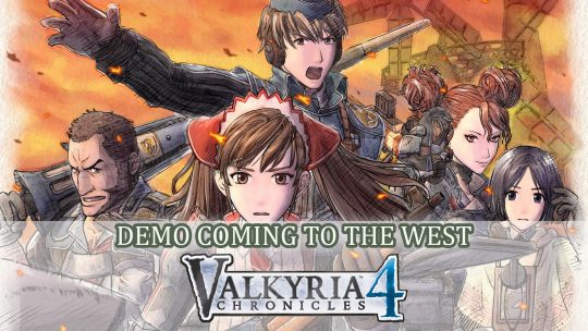 Valkyria Chronicles 4 Will Get a Demo in the West