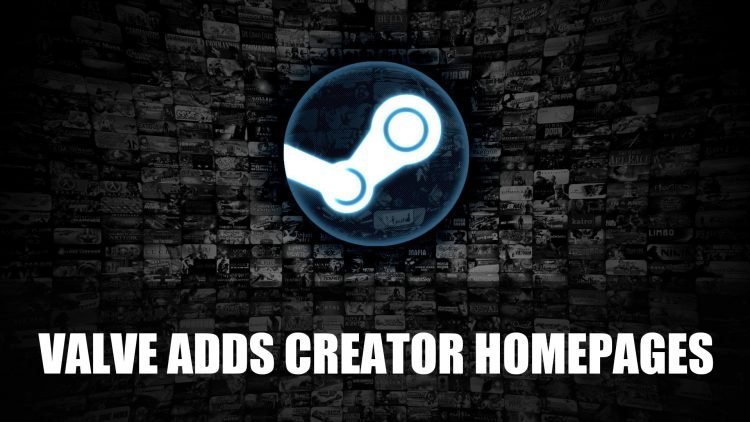 Valve Launches Steam Creator Homepages in Open Beta