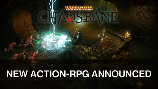 Warhammer: Chaosbane Announced for PC and Consoles by Bigben Interactive