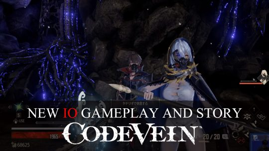 New Code Vein PS4 Gameplay Premieres Io in Action