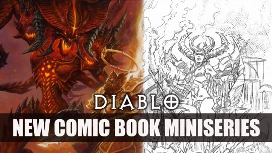 Titan Comics and Blizzard will Launch New Diablo Comic Book Series
