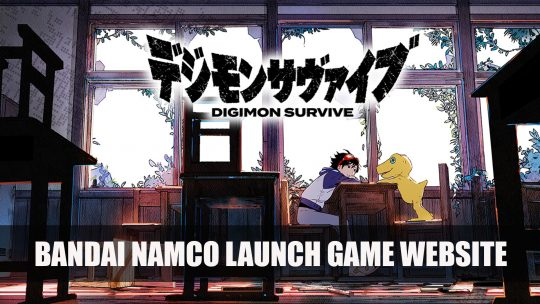 Bandai Namco Opens Official Digimon Survive Japanese Website