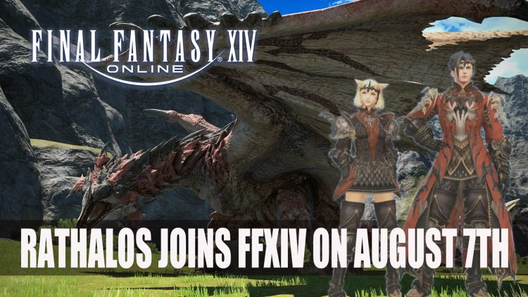 Monster Hunter's Rathalos Joins Final Fantasy 14 on August 7th