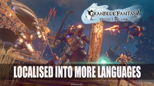 Granblue Fantasy Project Re: Link will be Available in English, French, Italian, German and Spanish