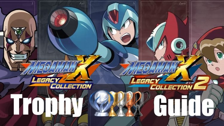 Mega Man X Legacy Collection 1+2 Trophy Guide & Roadmap