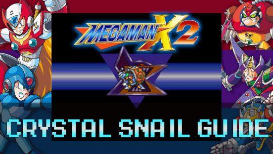 Mega Man X2: Energen Crystal Stage & Crystal Snail