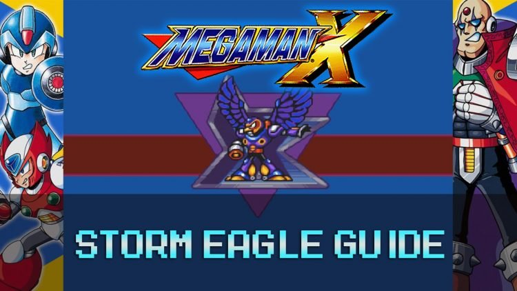 Mega Man X: Sky Stage & Storm Eagle