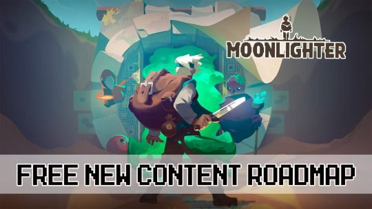 Moonlighter the Shopkeeper RPG Free Content Roadmap 2018