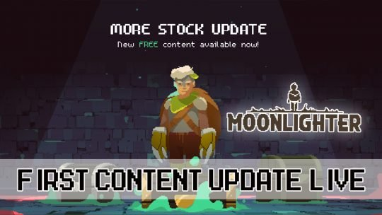 Moonlighter Receives First Big Content Update Adding Over 100 New Rooms and More