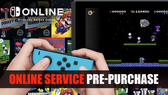 Nintendo Switch Subscription is Now Available for Pre-Purchase