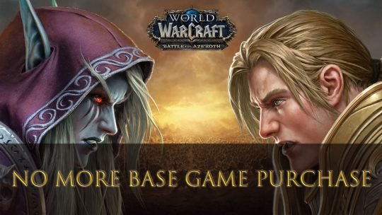 World of Warcraft will No Longer Require Base Game Purchase