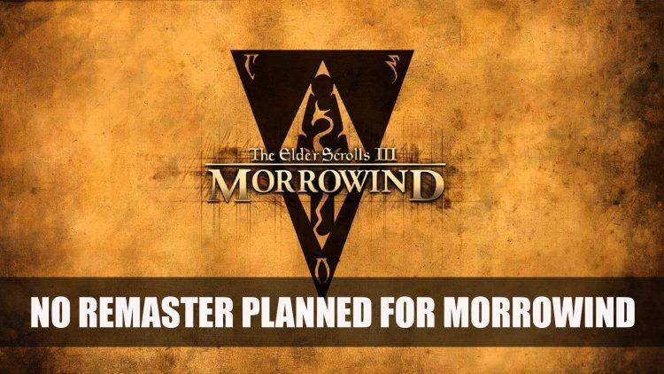 Todd Howard Has No Intention in Remastering Morrowind