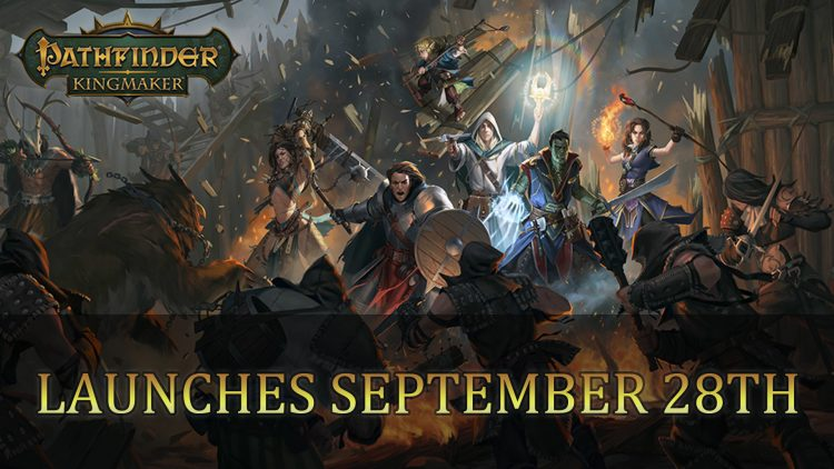 Pathfinder: Kingmaker Gets Release Date for September 28th 2018