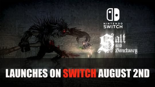 Salt and Sanctuary Releases on Nintendo Switch on August 2nd 2018