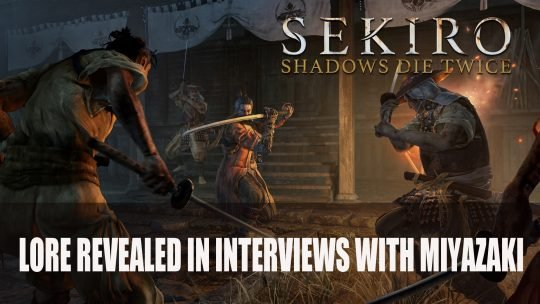Sekiro: Shadows Die Twice Lore, Info Revealed in Interviews with Miyazaki