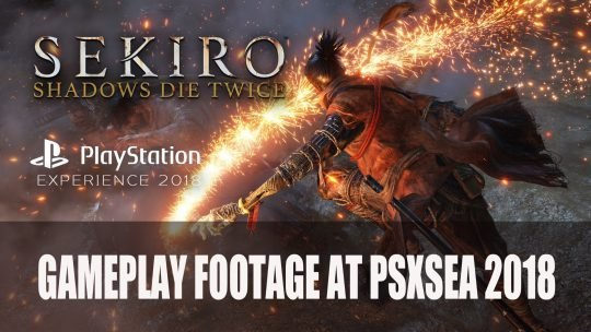 Sekiro: Shadows Die Twice to Premiere Gameplay at Playstation Experience South East Asia 2018