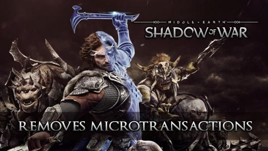 Middle-earth: Shadow of War's Latest Update Removes Microtransactions