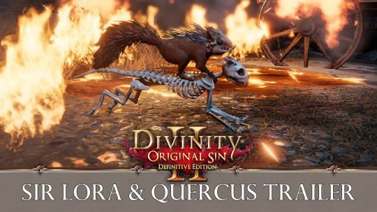 Larian Studios Release New Divinity Original Sin II Trailer Featuring Sir Lora and Quercus