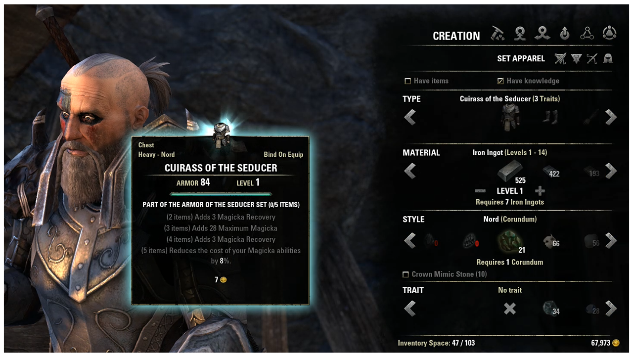 ESO Blacksmithing Guide: Sets, Weapons, Armor and Fast