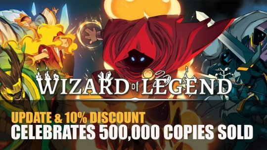 Wizard of Legend Receives Update and Discount Celebrating 500,000 Copies Sold