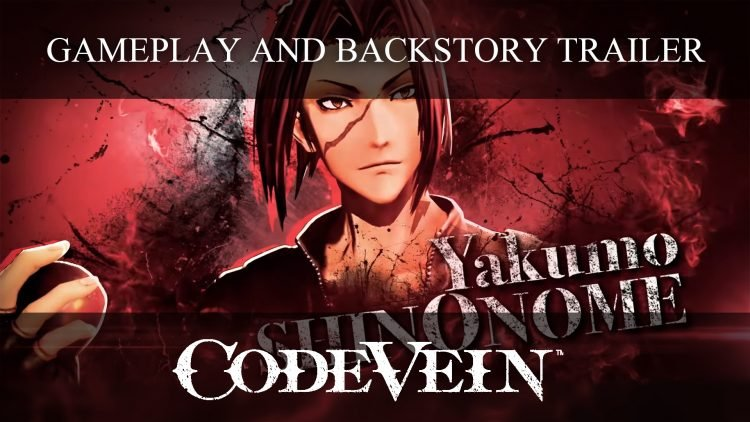 Code Vein New Trailer Featuring Yakumo Shinonome