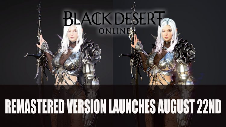 Black Desert Remastered Trailer Shows Off New Graphics; Free Horse Coming Next Week