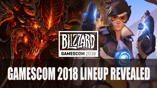 Blizzard Announces Gamescom 2018 Lineup