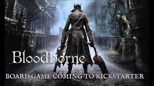 Bloodborne: The Board Game Coming to Kickstarter 2019