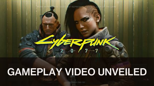 CD Projekt Red Release Gameplay of Cyberpunk 2077