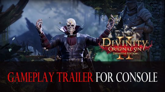 Divinity: Original Sin 2 Releases New Gameplay Trailer