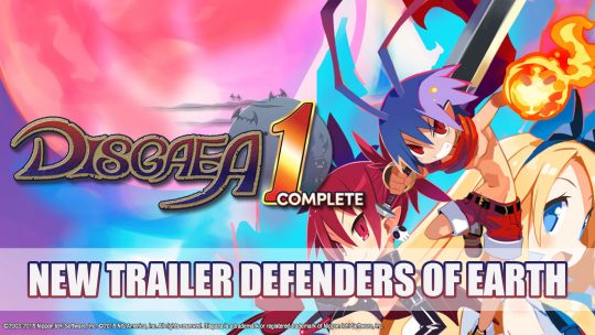 Disgaea 1 Complete Gets New Trailer Featuring Earth's Heroes
