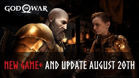 God of War's New Game+ Mode Arrives on August 20th 2018