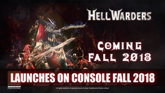 Hell Warders the Tower Defense RPG is Coming to all Platforms in Fall 2018