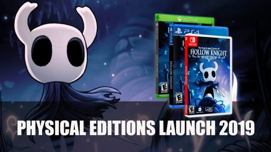 Un support physique pour Hollow Knight sur PS4, XBox One et Switch