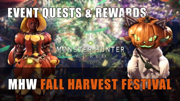 Mhw Autumn Harvest Festival Its Contents Fextralife