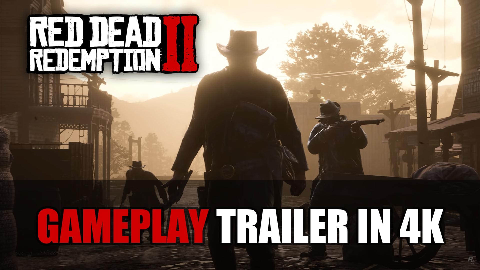 Red Dead Redemption 2 New 4k Gameplay Footage Captured On