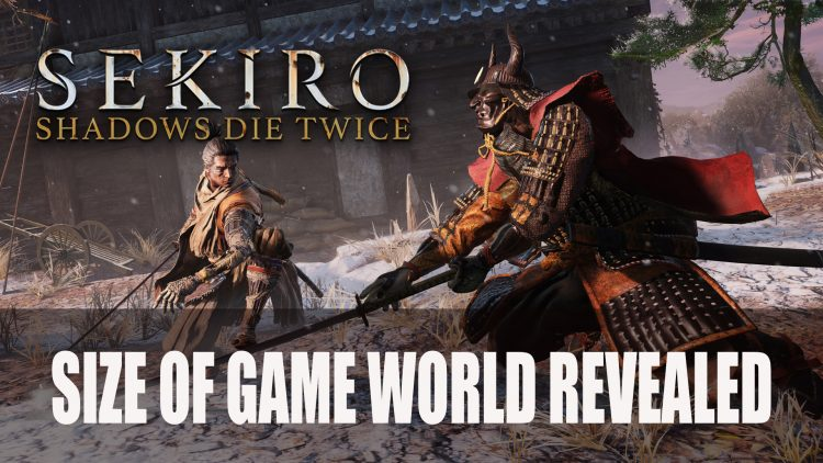 Sekiro: Shadows Die Twice Will Be Similar in Size to Bloodborne and Dark Souls 3