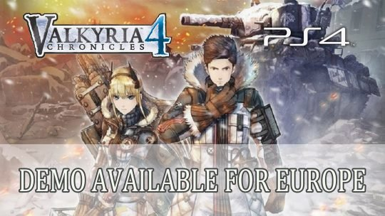 Valkyria Chronicles 4 Releases PS4 Demo for Europe