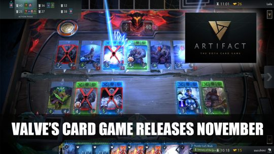 Valve to Release New Card Game Artifact Coming to Steam in November 2018
