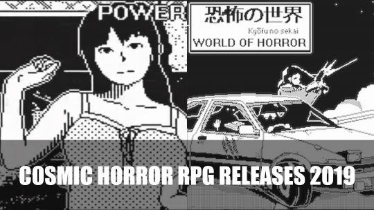 World of Horror a Retro RPG Announced for PS4, Switch and PC