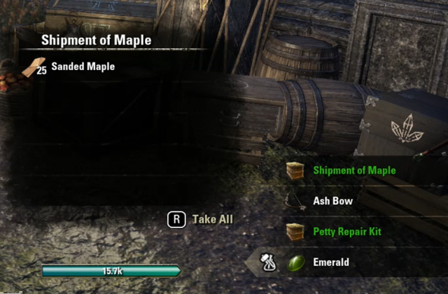 Eso Lvl  Crafted Gear