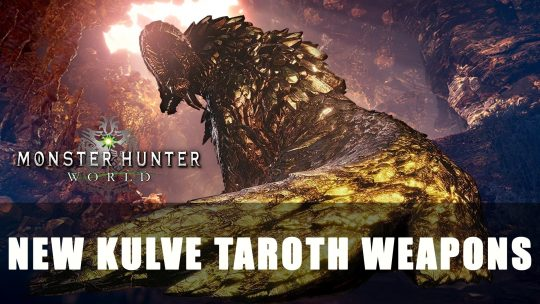 MHW: New Kulve Taroth Weapons and Events