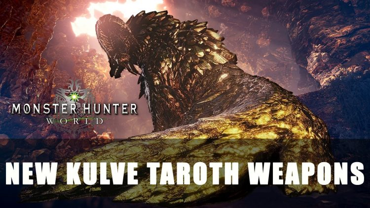 Mhw New Kulve Taroth Weapons And Events Fextralife