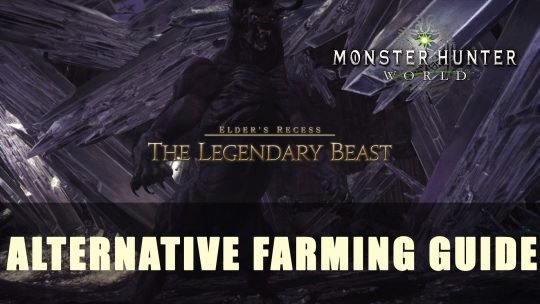 MHW: Alternative Behemoth Farming Guide