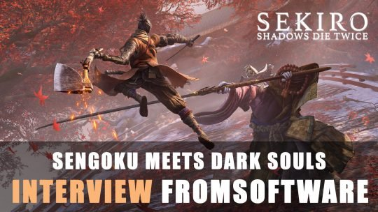 Sekiro : Sengoku rencontre Dark Souls, Interview avec From : Armes, Armures et Résurrection