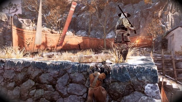 sekiro-wall-hanging-stealth