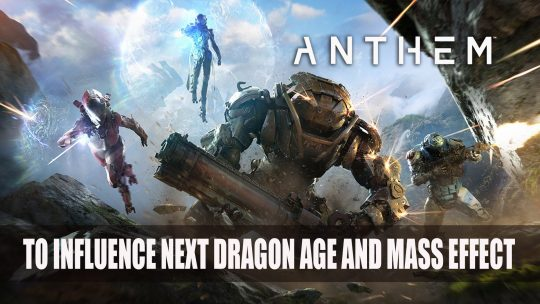 Bioware Shares How Anthem Could Influence New Dragon Age and Mass Effect Games