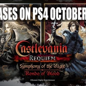 Castlevania : Symphony of the Night et Rondo of Blood débarquent sur PS4 le 26 octobre