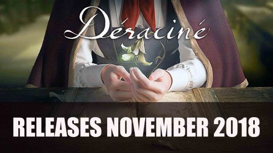 FromSoftware's VR Adventure Déraciné Gets a November Release