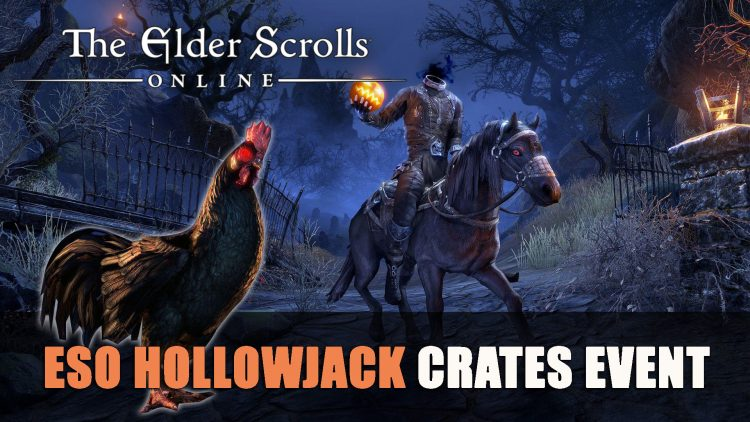 ESO Hollowjack Crown Crates Available Soon